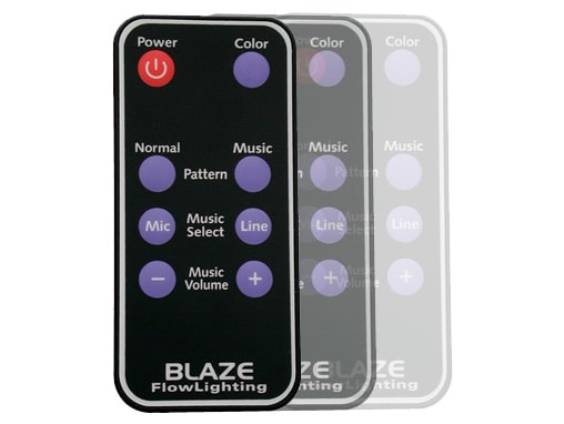 FlowLighting Blaze and Single Color Remote Control