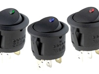 Image of Round Rocker Switch - Remotes & Switches