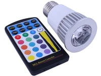 Image of Extreme Million Color Light Bulb - Home & Garden LEDs