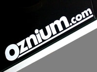 Image of Oznium.com Vinyl Decal - Promotional