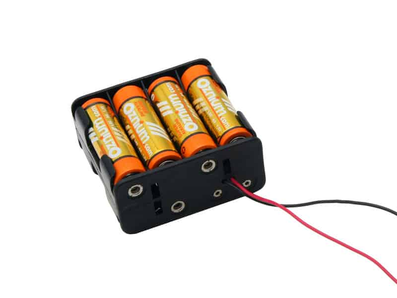 LED Battery Operated - 12V Battery Holder for AA, 27A, 23A for 12V ...