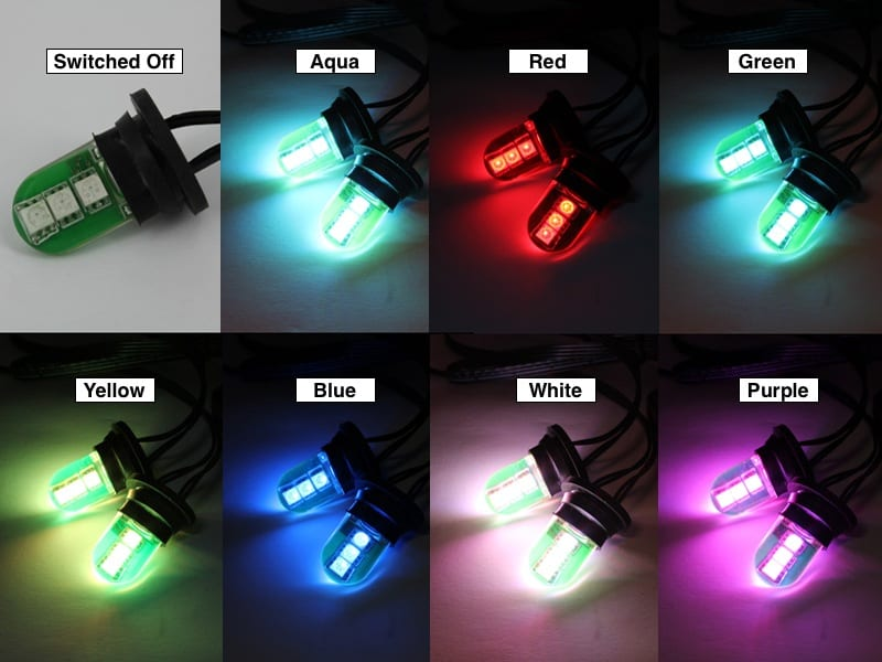Color Changing Headlight LED Strobe Kit