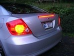 Scion tC Full Third Brake Light Red