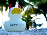 Image of Ozzy Oznium Duck - Promotional