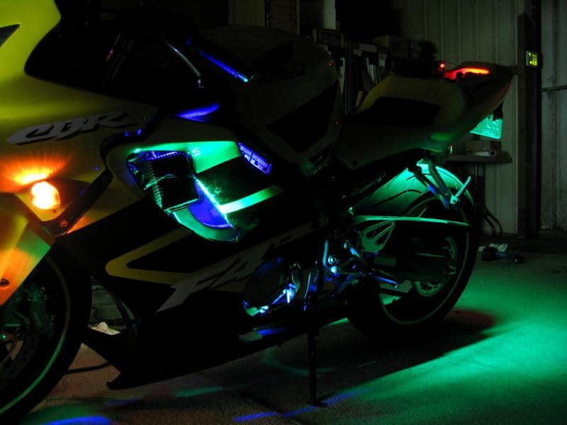 Motorcycle led strips waterproof flexible motorcycle leds oznium flexible led strips photos videos mozeypictures Gallery
