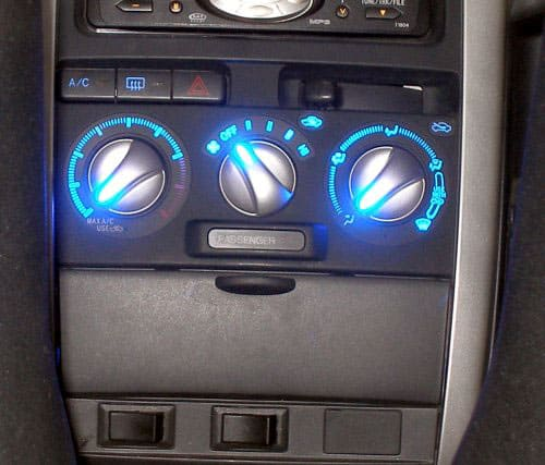 Switches under dash radio in Scion