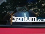 Oznium.com Vinyl Decal Even Insects love oznium.