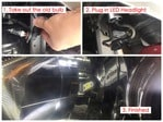 How to install LED headlights