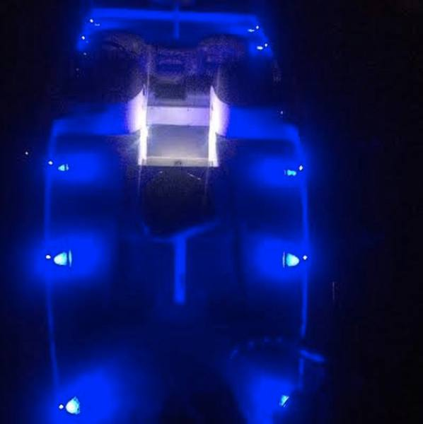 Bass Boat Led Bolt Deck Light Kit - Complete Set