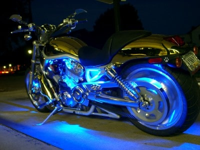 Image of Surface Mount LED Light Bar - Motorcycle LED Lights