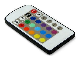 Million Color Bulb IR Remote